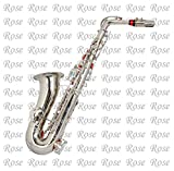 Rose Musicals, Alto Saxophone,Super Special Quality, Silver polish with Extra Item Like Hardcase