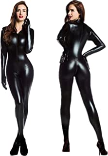 5b5403a7854c Amazon.es: latex catsuit - Mujer: Ropa