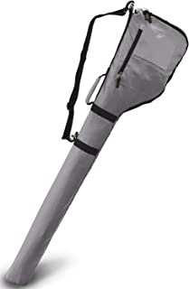 【 超軽量 大容量 コンパクト収納 】 EARTH LEAD ゴルフ クラブ ケース 最大7本収納可能 全14色 ファスナーポケット付き バッグ ソフト