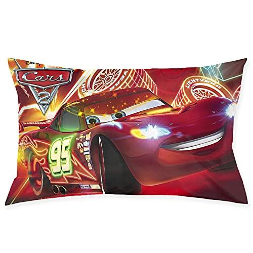 Cars Lightning Mcqueen - Almohadas de primavera, espuma de memoria, almohada de sueño profundo, funda de tencel con muelles de bolsillo, almohada, firme, perfecto para cuello/hombros