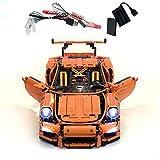GEAMENT Kit de luz de ladrillos para Technic Porsche 911 GT3 RS – Compatible con 42056 LEGO Race Car Building Model (juego LEGO no incluido)