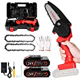 2021 Upgraded Mini Chainsaw with 2 Batteries 2...