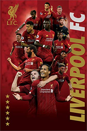 Liverpool FC Players 2019-20 Maxi Poster 61 x 91,5 cm