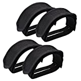 Outgeek 1 Pair Bike Pedal Straps Pedal Toe Clips Straps Tape for Fixed...