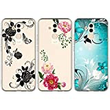 Beaulife 3X Coque pour Huawei Mate 20 Lite Coque Silicone Ultra Mince Antidérapant Antichoc TPU...