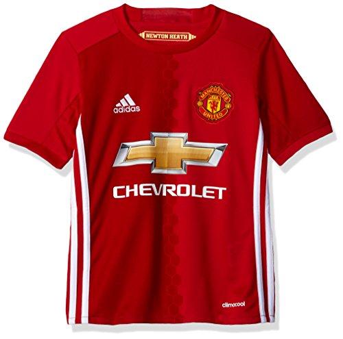 adidas Camiseta Unisex del FC Bayern de Múnich, Niños, F1606LHMU001Y, Rojo/Blanco, Small