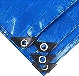 JT- Lonas, Tiendas Hechas de Tiendas de campaña Impermeables, Camping hamacas, Piscinas, Jardines, automóviles, Motocicletas, toldos Duradero (Color : Blue, Size : 2x2m)