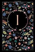 """Ι: ι Iota, Initial Monogram Greek Alphabet Letter Ι Iota, Cute Cover, Lined Notebook/Journal Gift Idea, 100 Pages, 6""""x9"""" L..."""