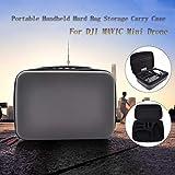 HSKB Drohne Handtasche, Tragetasche Kompatibel mit DJI Mavic Mini Drone Nylon Tragbare Drohne Rucksack wasserdichte Tasche Portable Tragekoffer (B) -