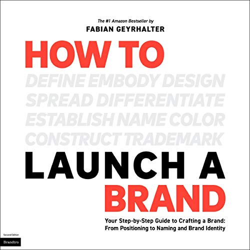 How to Launch a Brand audiobook cover art