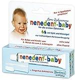 Nenedent Baby Lern-Zahncreme mit Fingerhut-Zahnbürste, 4er Pack (4 x 1 Stück)
