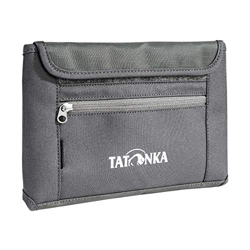Tatonka Travel Wallet Geldbeutel, Titan Grey, 21 x 13,5 x 2 cm