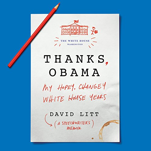 Thanks, Obama audiobook cover art