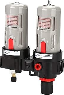 BFR-4000 PT1/2 Plastic Oil Water Regulator Tools Kit Air Pressure Compressor Filter Gauge Trap