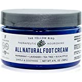 All Natural Antifungal Foot Cream. Moisturizing Organic Relief for Dry Cracked...