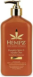 Best hempz pumpkin spice vanilla chai Reviews