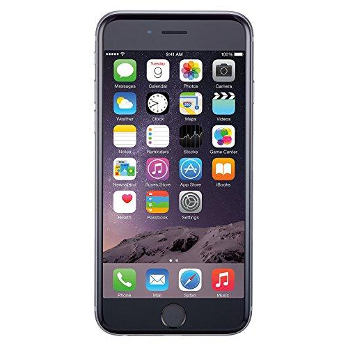 Apple iPhone 6, GSM desbloqueado, 64 GB – gris espacio (Renewed)