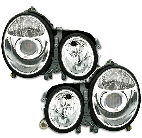 AD Tuning GmbH & Co. KG Scheinwerfer Set, Klarglas Chrom, Facelift-Optik