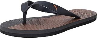 Puma Unisex's Epsom 2 Idp Dark Shadow-Jaffa Orange Flip-Flops