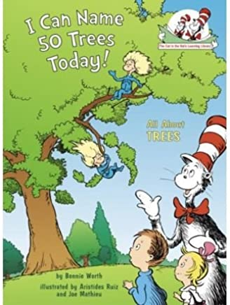 I Can Name 50 Trees Today!: All about Trees (Cat in the Hats Learning Library (Hardcover)) (Hardback) - Common