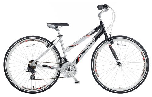 Great Deal! Barracuda Women's Liberty Trekking Bike - Silver/Black (Wheel 700C, Frame 19 Inch)