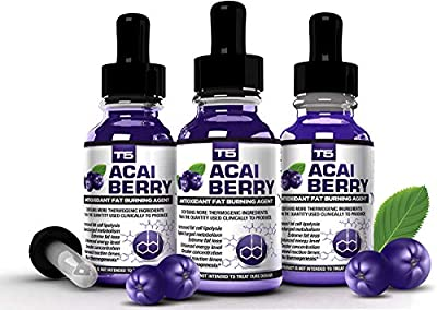 X3 Acai Berry Serum: Maximum Strength Acai Berry & T5 Burners Blend. Faster Absorption For Faster Results. (3 Month Supply) by BHS