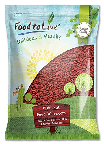 Goji Berries, 6 Pounds — Non-GMO Verified, Sun Dried, Large and Juicy