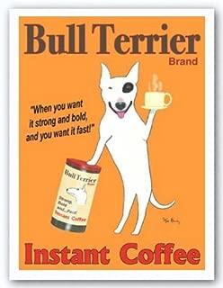 Bull Terrier Brand - Poster by Ken Bailey (22 x 30)