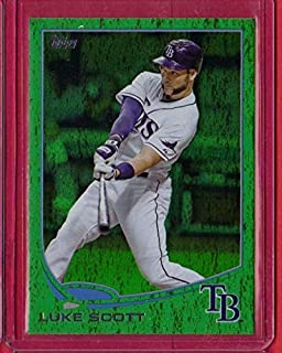 2013 Topps Update Emerald #US256 Luke Scott