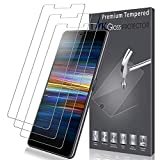 LK [3 Pack Screen Protector for Sony Xperia L3, Tempered
