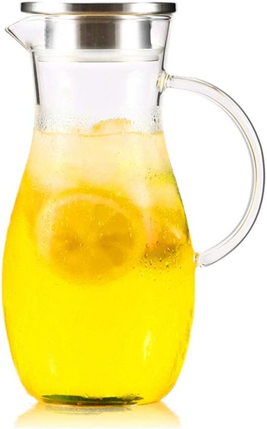 PITCHERS Glass Kettle Can Be 2021 model Heated Home Lemon Pot Coffee Save money