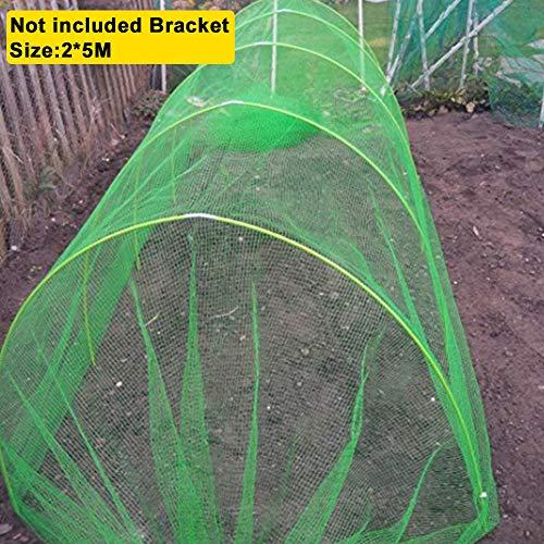Garden Netting Insektenschutznetz, Anti Butterfly Netting Grow Tunnel Feinmaschiger Pflanzenschutz für Gemüse Pflanzen Obst Pflanzen Anti-Bird Net