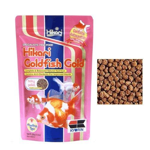 Hikari Goldfish Gold – Aliment complet flotteur en pellets pour toutes les Carpe koï et poissons rouges