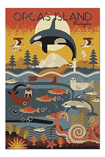 1000 piece puzzles orca - 7