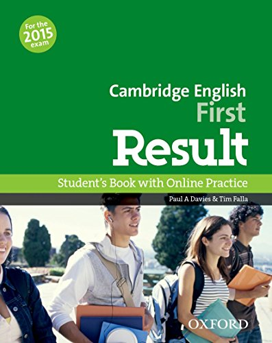 First Result Student's Book Online Practice Test Exam Pack 2015 Edition