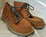 Famous Maker Camel Leather Half Boot Top Siders Shoes Mens 7
