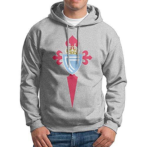Men Celta De Vigo Logo Customized Cool 100% Cotton Hoodie