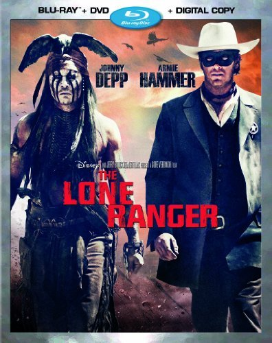 The Lone Ranger (Blu-ray + DVD + Digital Copy) by Walt Disney Studios Home Entertainment