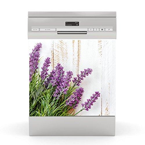wodtke-werbetechnik Spülmaschinen Aufkleber Lavendel 1