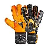 Ho Soccer One Flat Robust Orange Shadow Guantes de Portero, Unisex Adulto, Naranja/Negro, 8