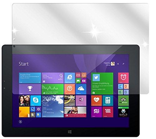 dipos I 2X Schutzfolie klar kompatibel mit Odys WinPad V10 Folie Bildschirmschutzfolie