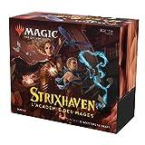 Magic: The Gathering- Bundle Strixhaven, 10 potenciadores de Draft y Accesorios
