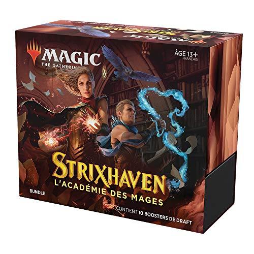 Bundle Magic: The Gathering Strixhaven, 10 boosters de draft & accessoires