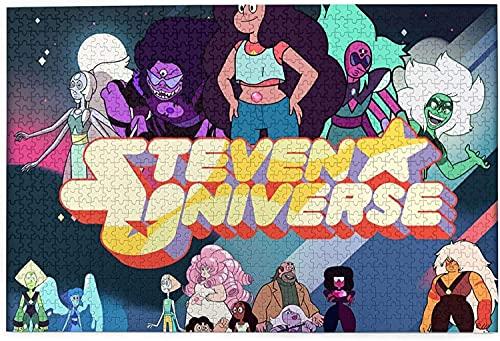 YeeATZ New in 2021 Steven Universe - Puzzle de madera para niños y adultos (1000 piezas)