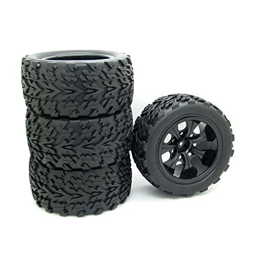 4X 1:10 RC Monster Truck Car Wheel Type Tires with