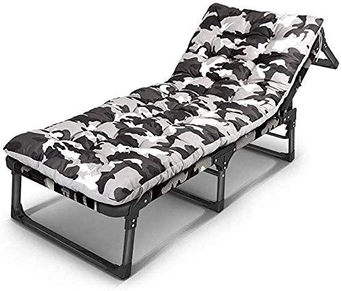 Sedie Pieghevoli per Esterni reclinabili, Lettino Sdraio reclinabile Giardino Pieghevole Giardino terrazza all'aperto Sedile Seduta Pieghevole Sedile, WQQWQQ-8521. (Color : T3)