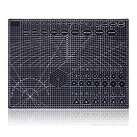 カッターマット A2両面カッティングマットPVCクラフトスクラップブッキングボード45cm * 60cmパッチワークファブリックペーパークラフトカッティングツールエンジニア用 カッターマット事務・模型・手芸等に