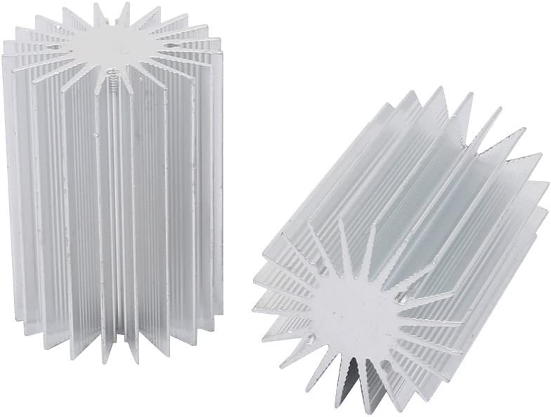 NA 2pcs Aluminum heatsink Heat Radiator Sales of SALE items from new works Cooler fin Sink Cooling Over item handling