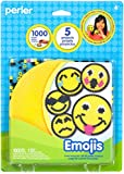 Perler Beads Smiley Face Emoji Fused Bead Kit, 1003pcs, 5 Projects