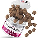 happyGree Best Calming Treats for Dogs: Product of USA- Helps with Hyperactive & Aggressive Behavior + Anxiety Composure Relief, Storms, Barking, Separation and More- approx/170 Soft Chews